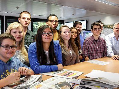 Les jeunes du journal SLAM! ont travaillé avec nos journalistes pour vous proposer une panoplie de sujets à découvrir lundi 15 septembre dans le Luxemburger Wort et sur wort.lu