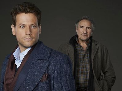 "FOREVER - ""Forever"" stars Ioan Gruffudd as Henry and Judd Hirsch as Abe. (ABC/Bob D'Amico)"