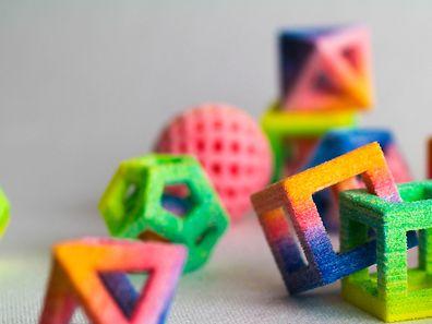 Technofood: Was auf den ersten Blick aussieht wie buntes Plastikspielzeug, ist tatsächlich (essbarer) Zucker.