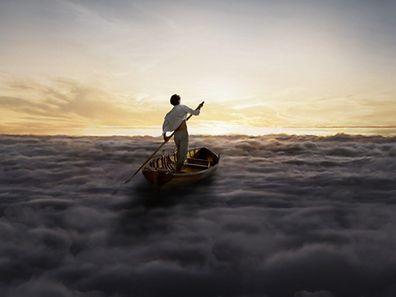 Mit einem Promotionbild auf der Startseite kündigen Pink Floyd ihr neues Album auf ihrer Homepage an.
