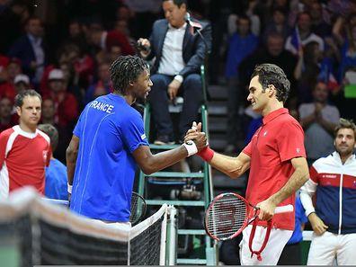 Roger Federer zeigte sich als fairer Verlierer.