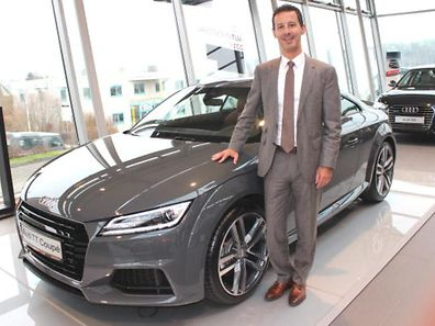 Michel Louro, director de vendas da Garage Audi & CIE em Junglinster