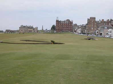 The Old Course in St Andrews - the setting for this year's British Open