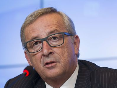 European Commission president Jean-Claude Juncker gives a press conference following a meeting between the EU Commission and the Luxembourg government at the EU Council headquarters in Luxembourg on July 3, 2015