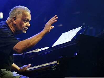 Joe Sample in Montreux (2011).