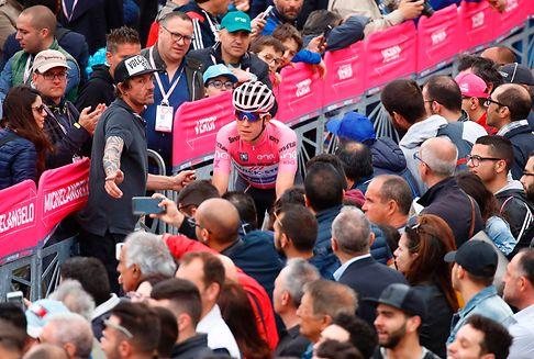 Giro d\'Italia: Jungels verteidigt das Rosa Trikot