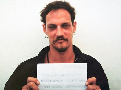 (FILES) Photo taken in May 2001 of French convict Michael Blanc in his cell, in Kerobokan. Blanc, a 28-year-old Frenchman who was sentenced to life imprisonment 17 November 2000 for drug trafficking has been given a shortened sentence on March 11, 2009 due to good conduct. His sentence has been shortened to twenty years. 