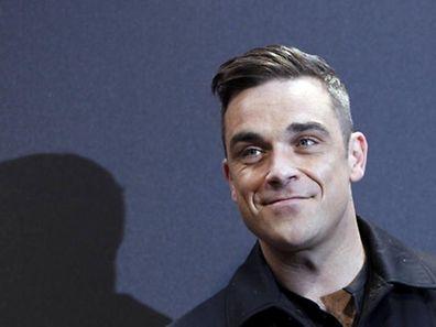 Robbie Williams ist ein großer Entertainer.