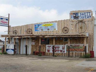 Diese Wildwest-Bar ist im Preis inbegriffen.