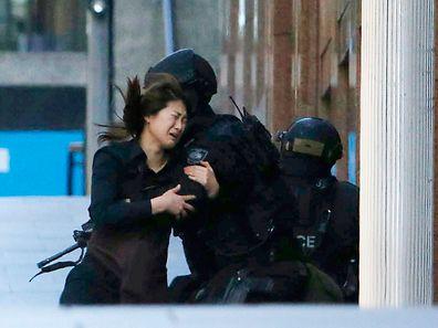 Die australische Polizei beendete die Geiselnahme im Lindt-Café von Sydney am 15. Dezember.