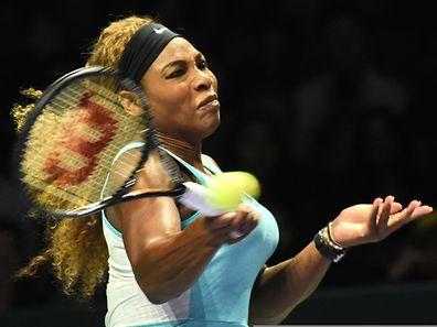 Serena Williams steht erneut im Masters-Finale.