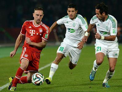 Frank Ribéry fühlt sich in Deutschland wohl.