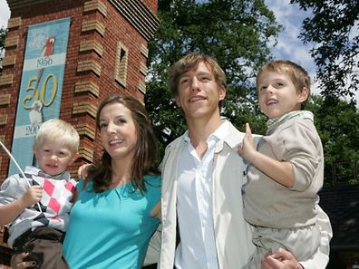 2011 file photo of Prince Louis and family during a visit to Parc Merveilleux in Bettembourg
