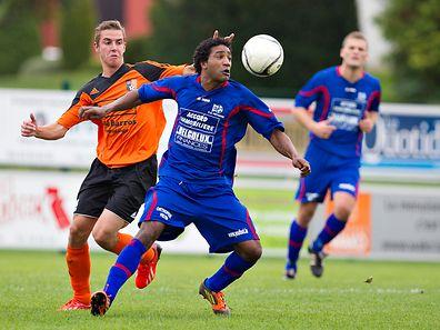 Patrick Mozina, ici sous les couleurs d'Erpeldange, a connu le pire moment de sa carrière dans ce club.