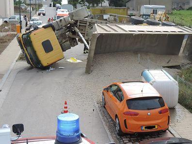 Der Unfall ereignete sich gegen 13 Uhr.