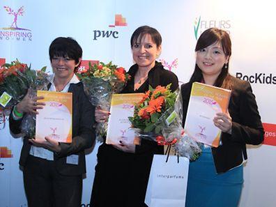 Sylvie Regnier, Edith Magyarics, Zhang Yue (l.t.r.)