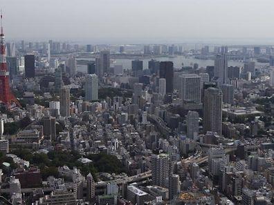 Ein starkes Erdbeben vor der Küste Japans hat den Großraum Tokio erschüttert.