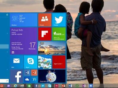 Sowohl das Start-Menü als auch die Icons werden als Bedienelemente bei Windows 10 eingesetzt.