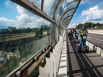 Die Tour mit dem Segway bietet auch Einheimischen eine tolle Gelegenheit, die Stadt von einer anderen Seite zu entdecken.