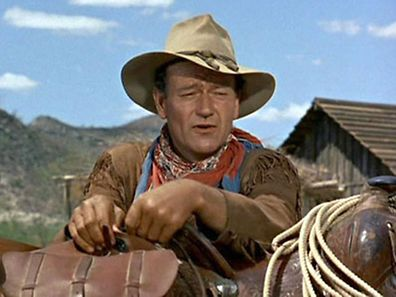 The legendary John Wayne