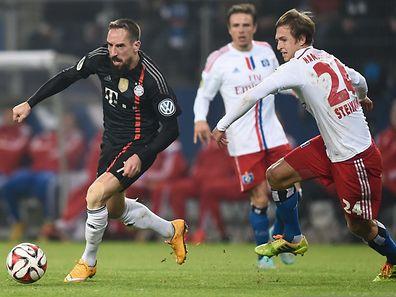 Franck Ribéry und der FC Bayern München gerieten zu keinem Zeitpunkt ins Straucheln.