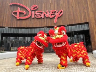 Disney Store opens its first and largest store in the world in Shanghai China (PRNewsFoto/Disney)