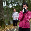 Schnupfen ist nicht unbedingt ein Grund für eine Trainingspause, dennoch ist Vorsicht geboten.