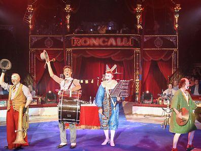 Zirkus Roncalli Premiere.Foto:Gerry Huberty