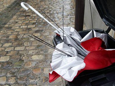 Den Regenschirm sollte man am Dienstag- und Mittwochnachmittag fest in den Händen halten.