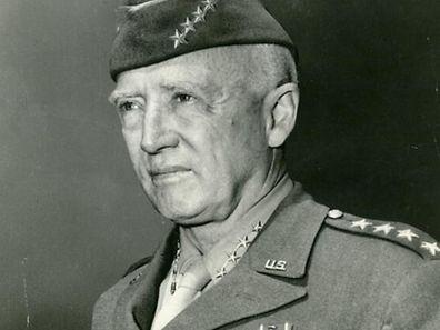 General George S. Patton. Bis Ende März bewohnte er die Fondation Pescatore.