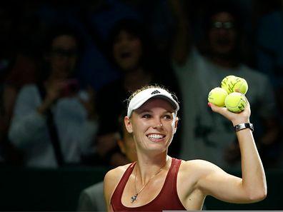 Caroline Wozniacki legt den Tennisschläger zur Seite, um am New York Marathon teilzunehmen.