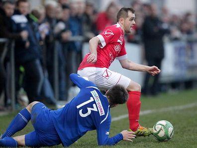 Emko Kalabic und der FC Wiltz wollen einen direkten Abstiegsrang vermeiden.