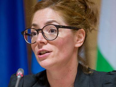 La coordinatrice générale de Digital Lëtzebuerg, Anne-Catherine Ries, joue un rôle crucial dans le nouveau dispositif du gouvernement. Photo : Pierre Matge
