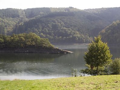 The inviting waters at Luxembourg's Lac de la Haute Sûre received an excellent rating