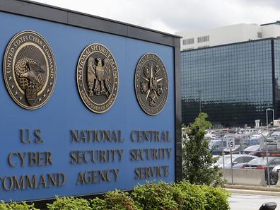 The National Security Agency (NSA) campus in Fort Meade