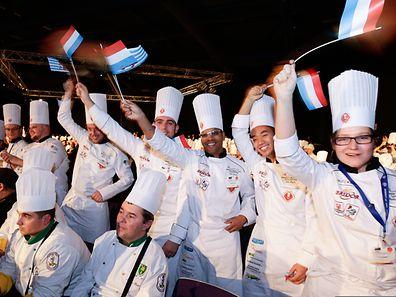 Das luxemburger Team ist voller Begeisterung.
