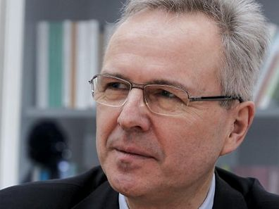 25.3. ITV Rainer Klump , Rektor Universitaet Luxemburg / Uni / Uni.lu Foto: Guy Jallay