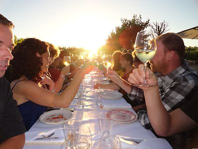 Die Weine vom Weingut «De Kleine Schorre» erfreuen sich nicht nur bei den Einheimischen großer Beliebtheit.