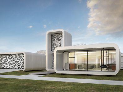 A Dubaï, une future construction entièrement réalisée grâce à l'impression 3D.