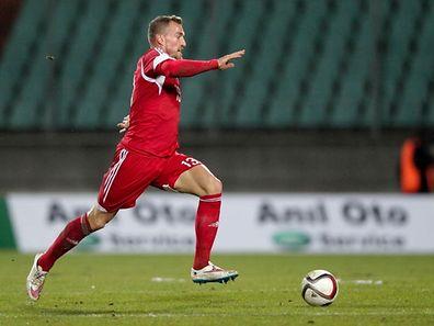 Aurélien Joachim hofft noch auf einen Einsatz im EM-Qualifikationsspiel in der Ukraine.
