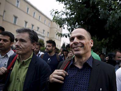 Le ministre grec des Finances, Yanis Varoufakis, le 28 juin 2015