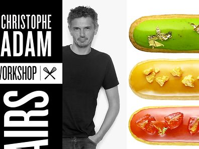 "Christophe Adam - ""Les éclairs - workshop"""