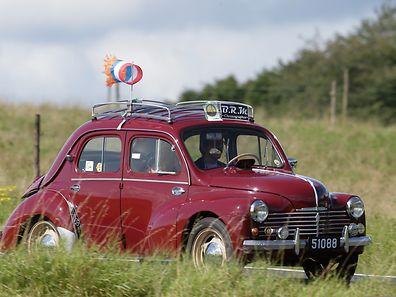 """Der Renault 4CV wurde damals liebevoll """"Crèmeschnittchen"""" genannt."""