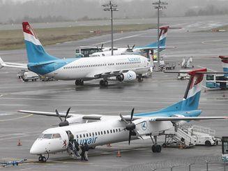 30.3. Findel / Flughafen / Luxair Foto: Guy Jallay