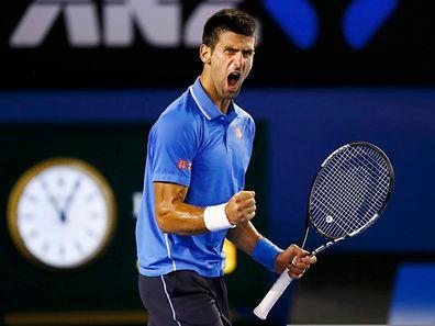 Novak Djokovic bewies viel Ausdauer.
