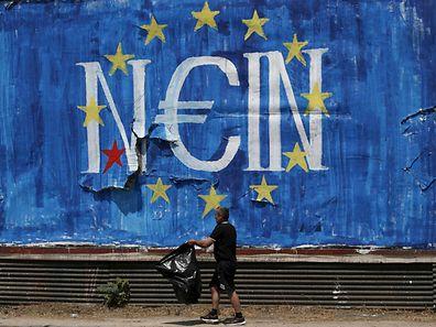 A graffiti in Athens