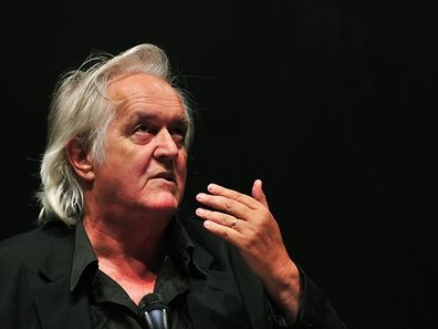 FILES - Picture taken on June 3, 2010, shows Swedish author Henning Mankell during a press conference about his experience of the Israeli attack on a Gaza-bound aid flotilla in Berlin. Swedish crime writer Henning Mankell died at the age of 67, as announced on October 5, 2015.  AFP PHOTO / JOHANNES EISELE