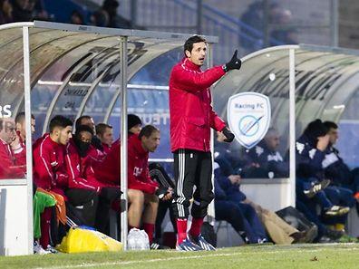 Dino Toppmöller est heureux au RM Hamm mais il reste le supporter n°1 de Salmrohr.