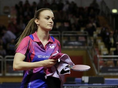 Sarah de Nutte gewann ihre drei Spiele.