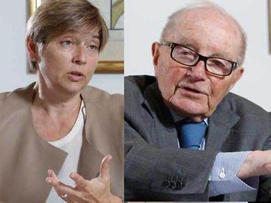 Manou Hoss und André Elvinger glauben an die Zukunft des Finanzplatzes.